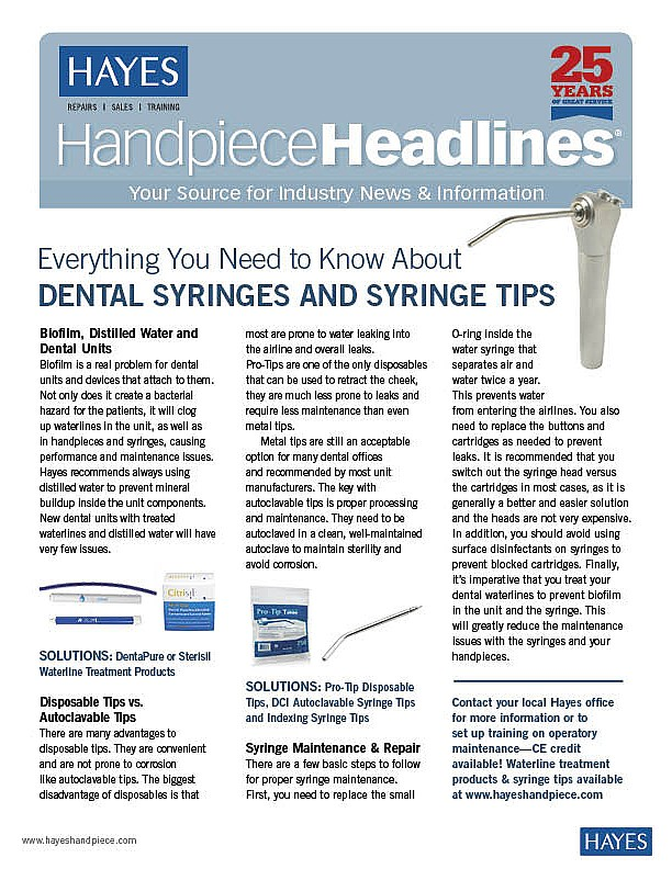 Handpiece Headlines FEB 2014 1